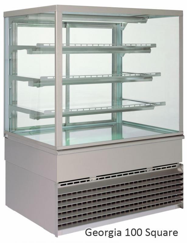 UNIS GEORGIA Square 1000 chladící vitrína