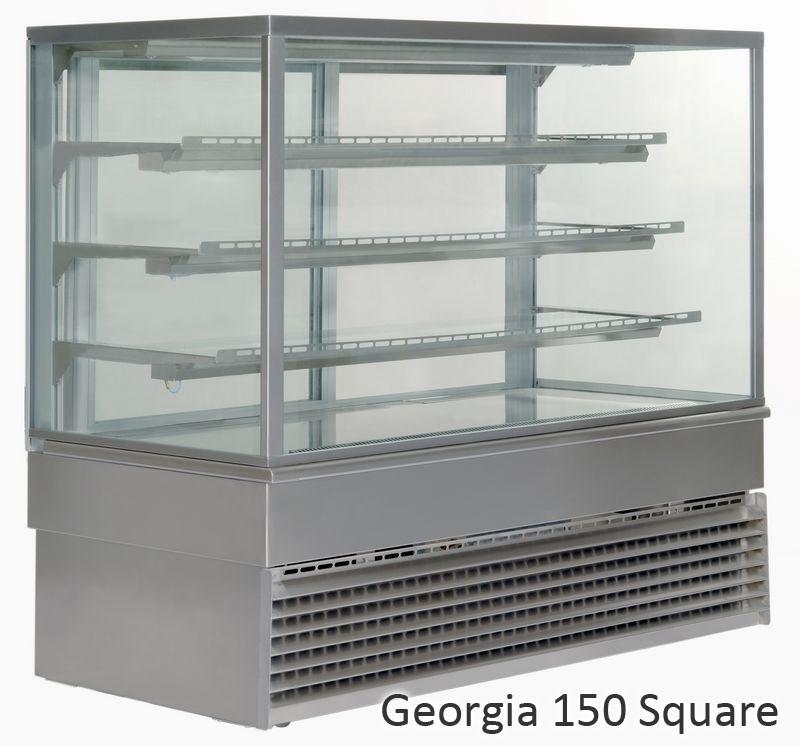 UNIS GEORGIA Square 1500 chladící vitrína