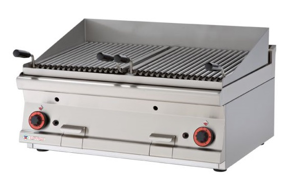 RM Gastro plynový gril lávový CWT - 68 G