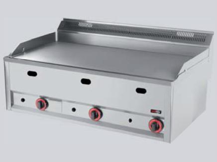 REDFOX grilovací deska hladká GDHL 99 G