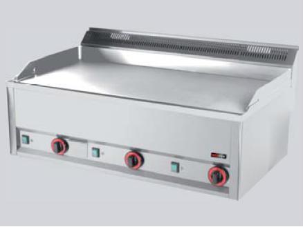 REDFOX grilovací deska hladká chrom GDHLC 99 ET