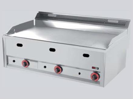 REDFOX grilovací deska hladká chrom GDHLC 99 G