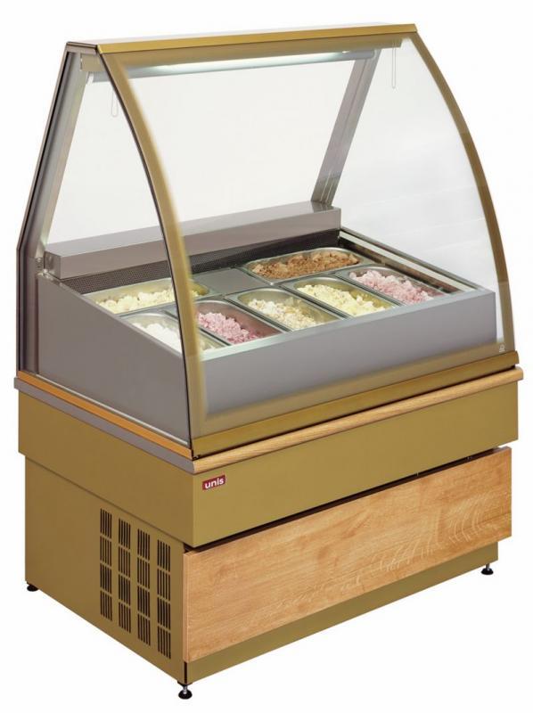 UNIS GEORGIA III Ice Cream 1000 chladící vitrína