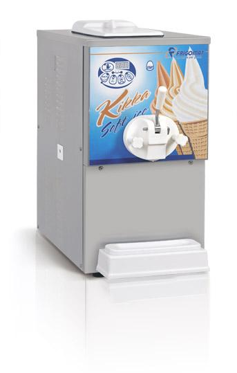 Frigomat Výrobník točené zmrzliny KIKKA 3P