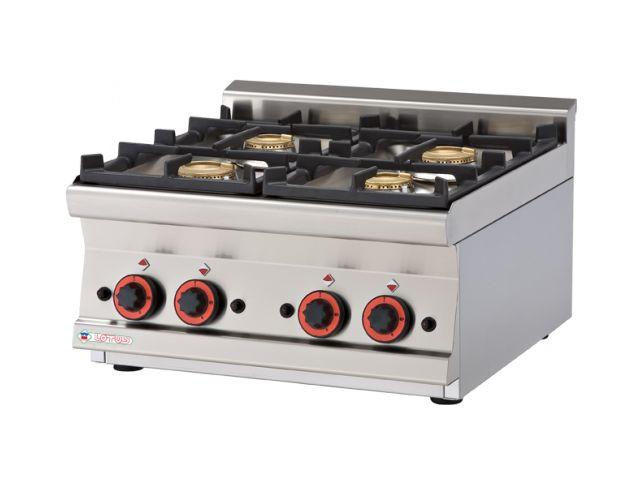 RM Gastro stolní plynový sporák PCT - 66 G