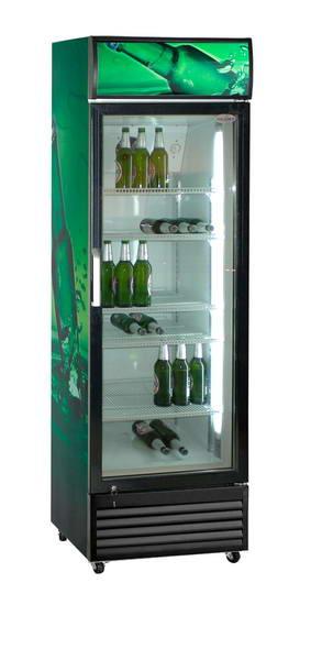 Scan prosklená lednice SD 415