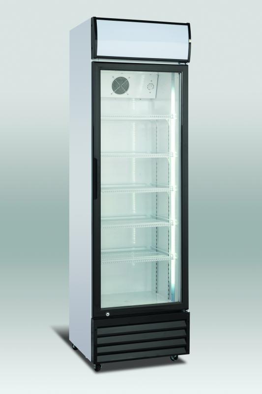 SCAN prosklená lednice SD 416
