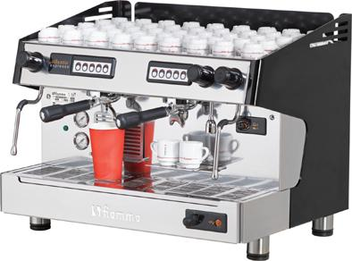 Fiamma Pákový kávovar ATLANTIC II Tall Cups CV dvouskupinový