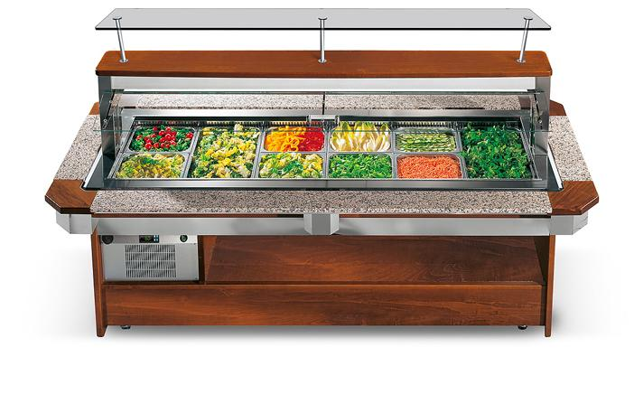 Enofrigo Chladící salátový bar TANGO LUXUS 1400 RF