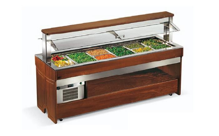 Enofrigo Teplý salátový bar TANGO 1000 BM