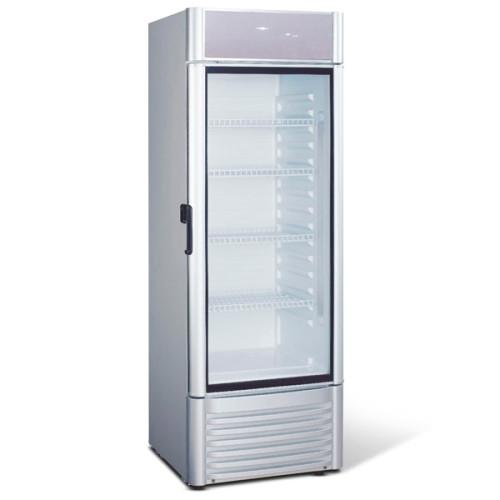 NORDline prosklená lednice UD 380 AL