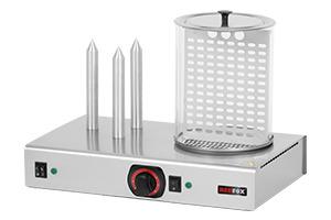 REDFOX Hot-dog 3 trny + nádoba; HD 3N