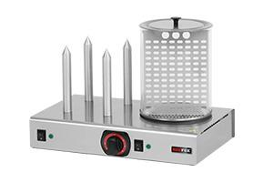 REDFOX Hot-dog 4 trny + nádoba; HD 4N