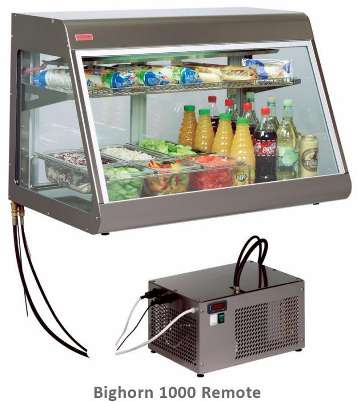 UNIS Stolní chladící vitrína BIGHORN Remote 1000