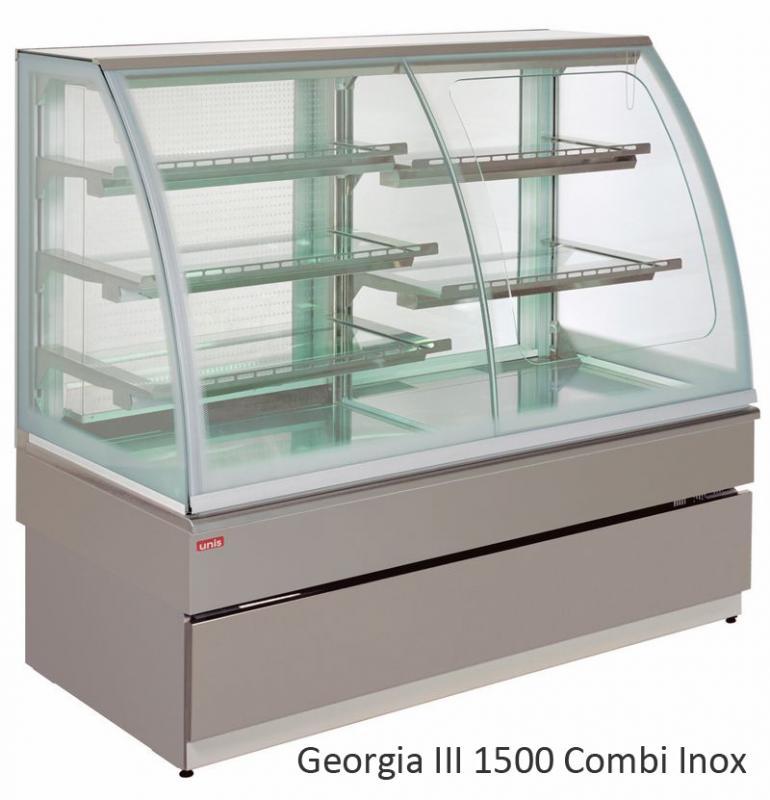 UNIS GEORGIA III Combi 1500 chladící vitrína