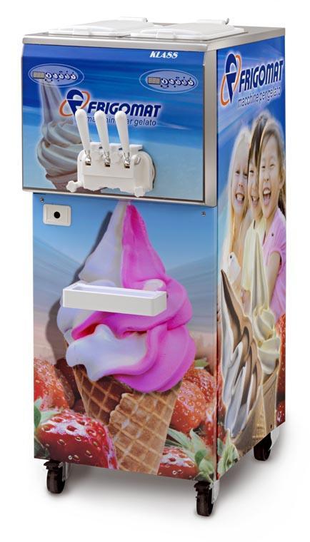 Frigomat Výrobník točené zmrzliny KLASS 202P MIXER + POLEP