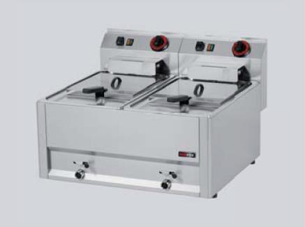REDFOX fritéza 2x 8l FL 66 EM