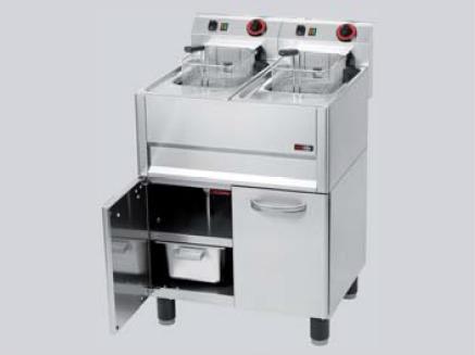 REDFOX fritéza 2 x 8l třífázová FPDL 8-66 ET