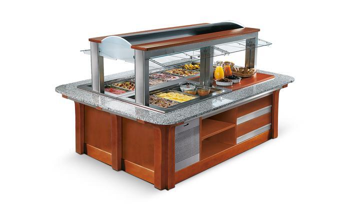 Enofrigo Salátový bar GRAN BUFFET ISOLA 2 1400BM/NE