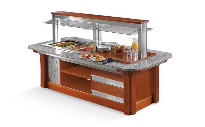 Enofrigo Salátový bar GRAN BUFFET ISOLA 2000BM/NE