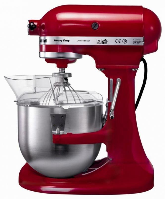 Kitchen Aid Robot multifunkční profi Heavy Duty KSM7591 královská červená