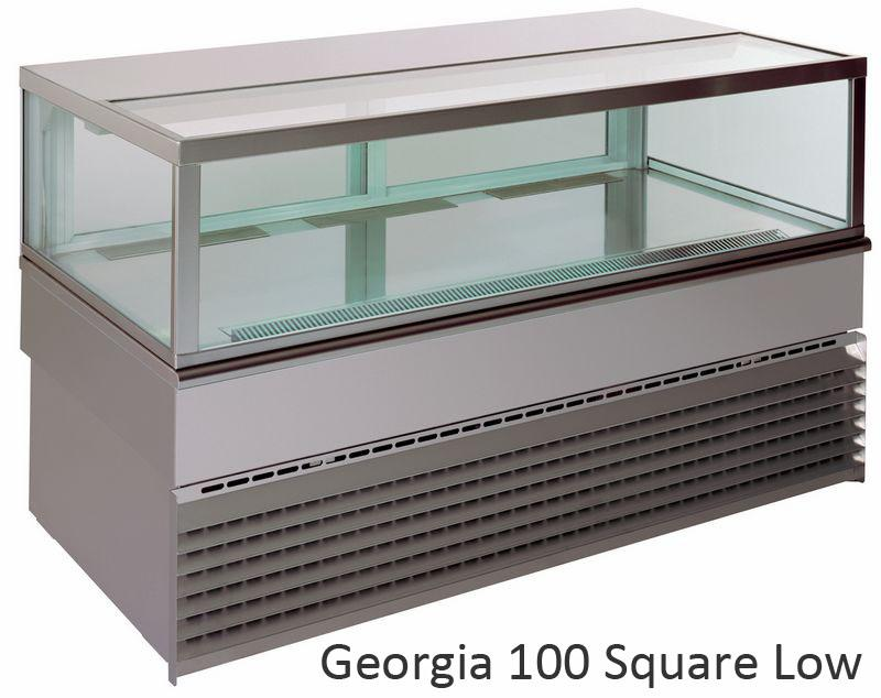 UNIS GEORGIA Square LOW 1000 chladící vitrína