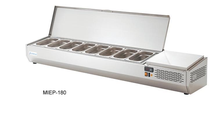 Edesa Pizza chladící pultová vitrína MIEP 154