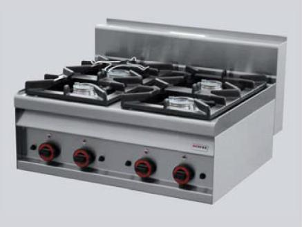 REDFOX Sporák stolní plynový - 4 hořáky PC 8 G