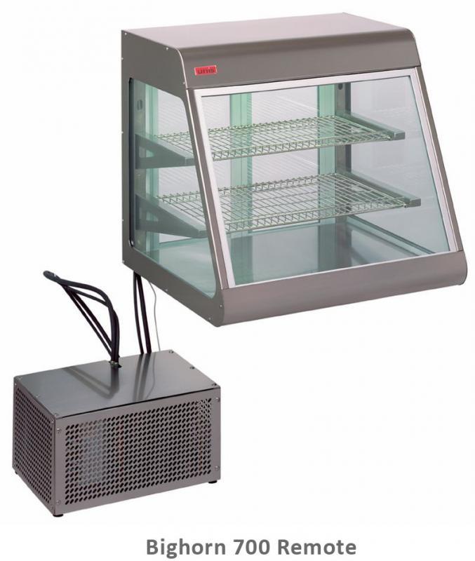 UNIS Stolní chladící vitrína BIGHORN Remote 700