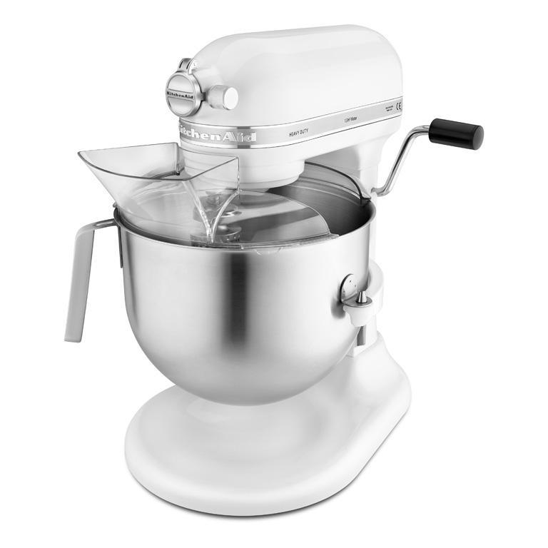 Kitchen Aid Robot multifunkční profi Heavy Duty KSM7591; bílá