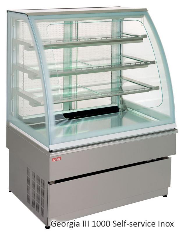 UNIS GEORGIA III self-service 1000 chladící vitrína