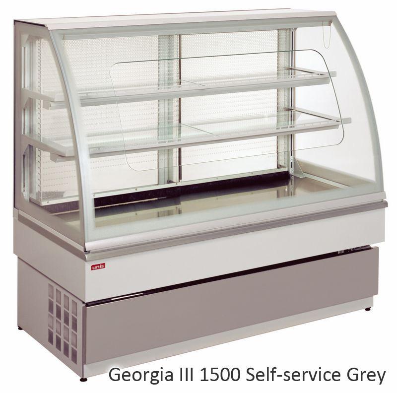 UNIS GEORGIA III self-service 1500 chladící vitrína