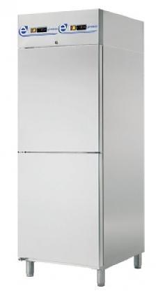 Edesa Kombinovaná chladící skříň dvouprostorová SPI-072/2/D