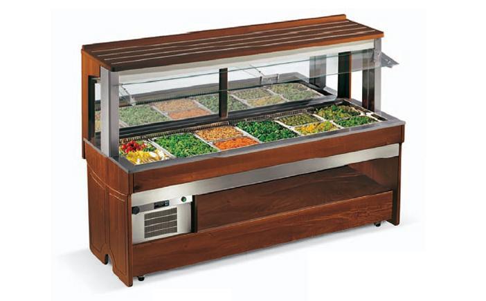 Enofrigo Teplý salátový bar TANGO WALL 2000 BM