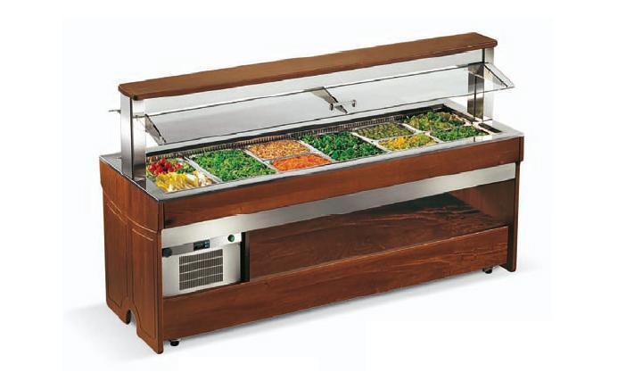 Enofrigo Teplý salátový bar TANGO 1400 DRY